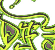 D#3 Sticker
