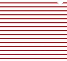 Red Strings Sticker