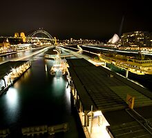 ferries - sydney harbour by Adam Smith