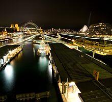 ferries - sydney harbour by Adam Smith