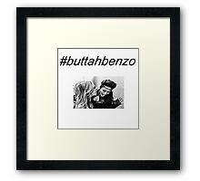 #buttahbenzo - Shay Mitchell and Ashley Benson Framed Print