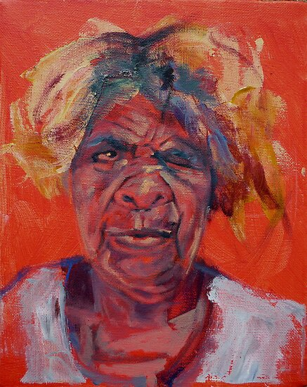 Portrait Art: Makinti by Neale Sommersby