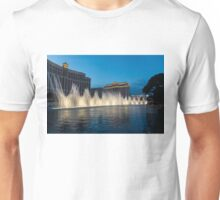 The Fabulous Fountains at Bellagio, Las Vegas Unisex T-Shirt