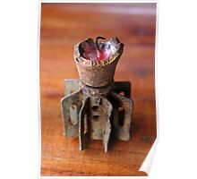 Bomb Candle-holder Poster