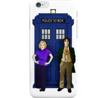 The 8th Doctor and Charley iPhone Case/Skin