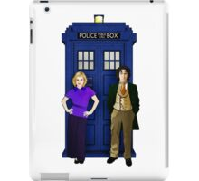 The 8th Doctor and Charley iPad Case/Skin