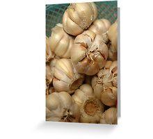 garlic Greeting Card