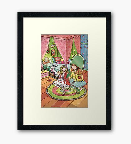 Girls room Framed Print