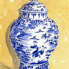 Antique Ginger Jar by FranEvans