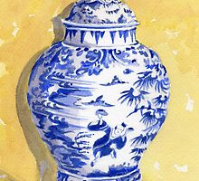 Antique Ginger Jar by FranEvans