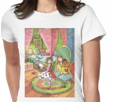 Girls room Womens Fitted T-Shirt