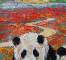 Panda Paradise Sticker