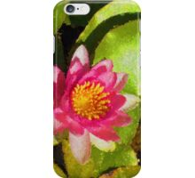 Pretty in Pink - a Waterlily Impression iPhone Case/Skin