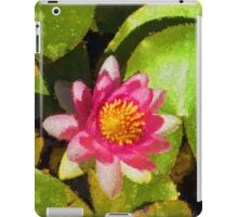 Pretty in Pink - a Waterlily Impression iPad Case/Skin