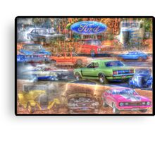 A History of Ford Canvas Print