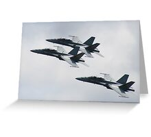 Military Jets Greeting Card