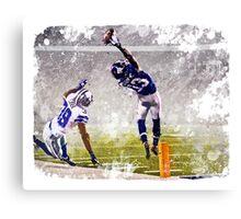 Odell Beckham Jr Catch Canvas Print