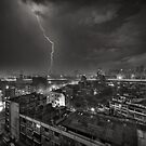 Storm over Bangkok by Laurent Hunziker