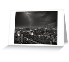 Storm over Bangkok Greeting Card