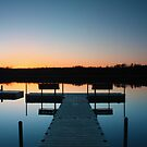 Lake Harold Dock by Megan Noble
