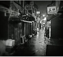 Small street in Tokyo Photographic Print