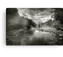 Hotsprings Canvas Print