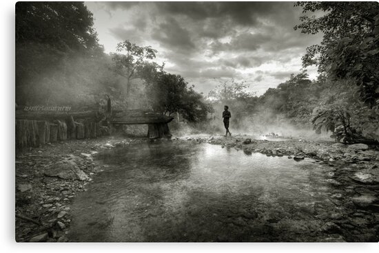 Hotsprings by Laurent Hunziker