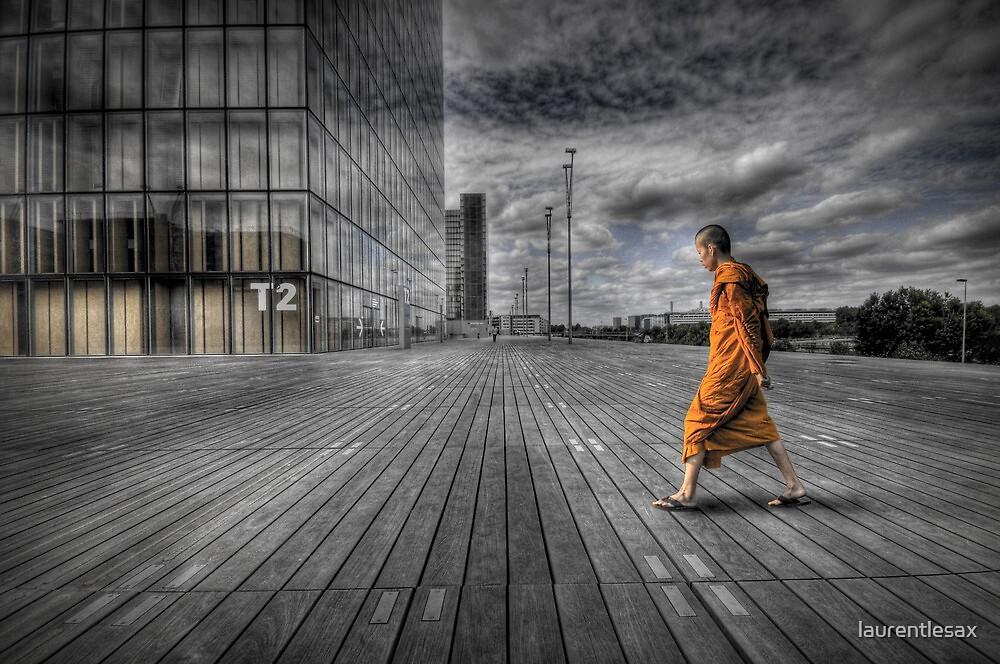 Monk in Paris by Laurent Hunziker