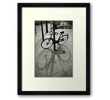 Bicycle in Paris Framed Print