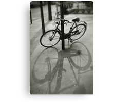 Bicycle in Paris Canvas Print