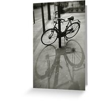 Bicycle in Paris Greeting Card