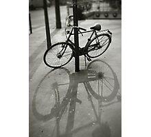 Bicycle in Paris Photographic Print