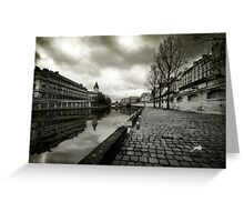 Paris, Quais de la Seine Greeting Card