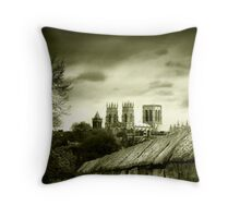 York Minster #1 Throw Pillow