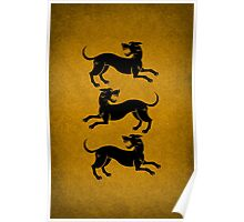 Three Hounds Poster