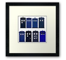Doctor Who - The TARDIS Framed Print