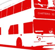 Travelling In Chatteris Sticker