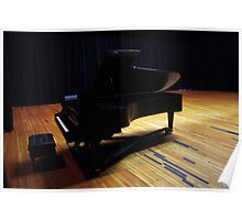 Grand Piano Onstage Poster