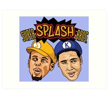 Splash Brothers Art Print
