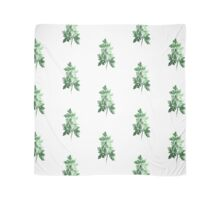Parsley watercolor art print painting Scarf