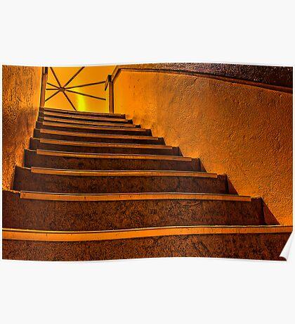 Mordialloc Rotunda Staircase Poster