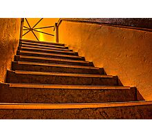 Mordialloc Rotunda Staircase Photographic Print