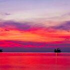 Sunset in Koh Tao, Thailand. by Michael Schön