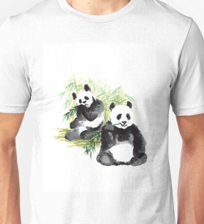 Giant panda minimalist paitning Unisex T-Shirt