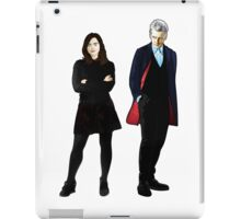 The Doctor and Clara iPad Case/Skin