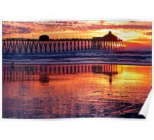 Pacific Sunset California Poster