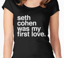Seth Cohen Women's Fitted Scoop T-Shirt