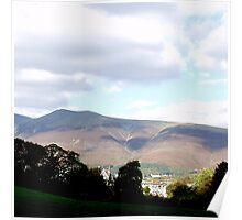 UK The Lake District - Keswick Poster
