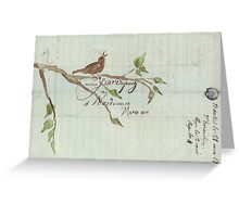 The Songbird Greeting Card