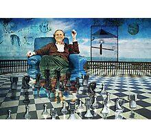 The Day I Beat Duchamp at Chess Photographic Print